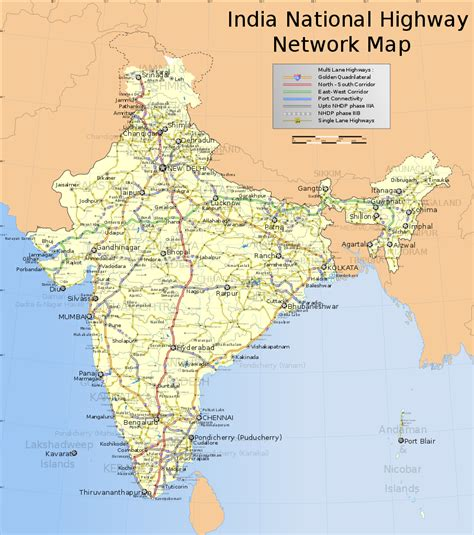 of india tiedosto india roadway map svg