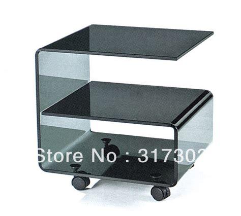 china glass coffee table glass tea table living room small table beside sofa glass tea tables with wheel