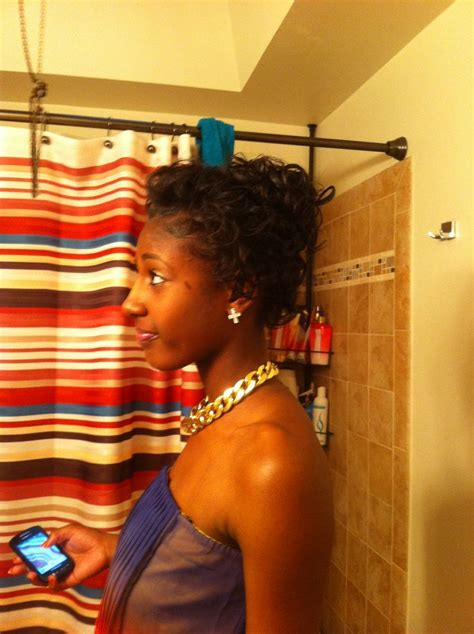curl wax black hair natural hair w wax curls be u ti ful pinterest wax