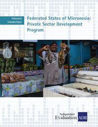 fsm development bank federated states of micronesia sector development