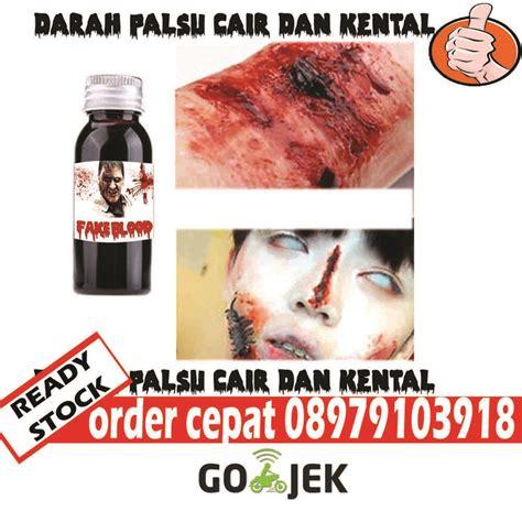 Blood 500ml Blood Darah Palsu jual wall sticker murah stiker dinding murah