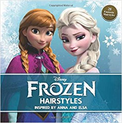 amazon hairstyles book disney frozen hairstyles inspired by anna and elsa