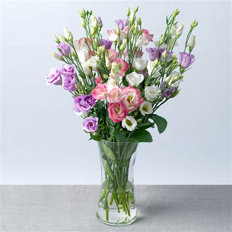 Flowers By Post by Sweet Lisianthus Flowers By Post Bunches Co Uk