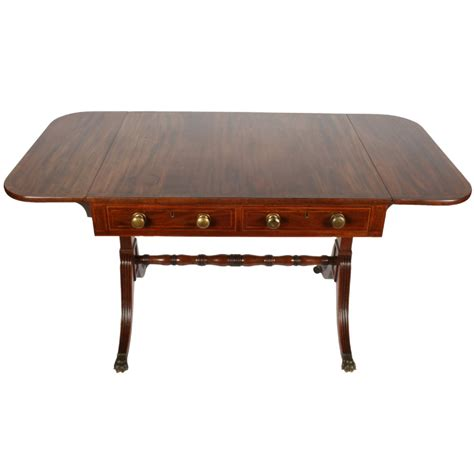 Regency Mahogany Sofa Table 355639 Sellingantiques Co Uk Sofa Table Uk