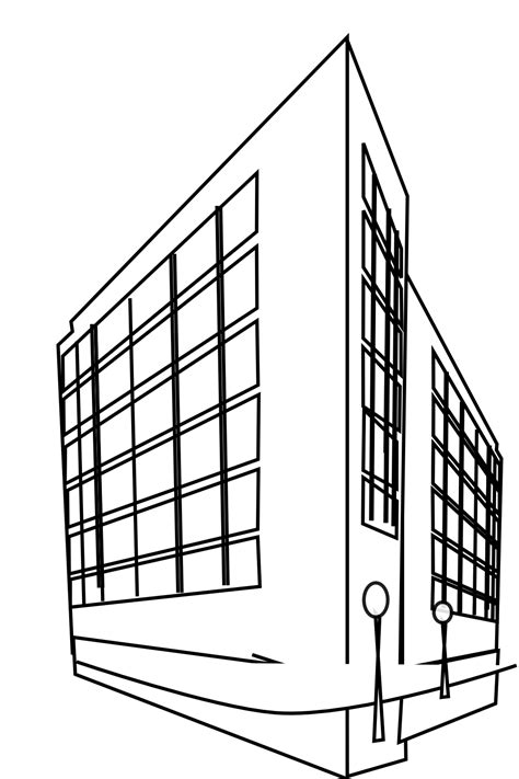 building clipart building clip images black and white 2019