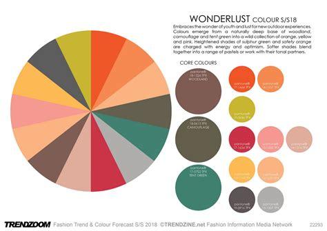 Home Interior Color Trends trendzoom fashion trend amp colour forecast s s 18