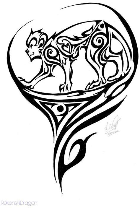 tribal monkey tattoo meaning tribal monkey tribal monkey by rokenshidragon on
