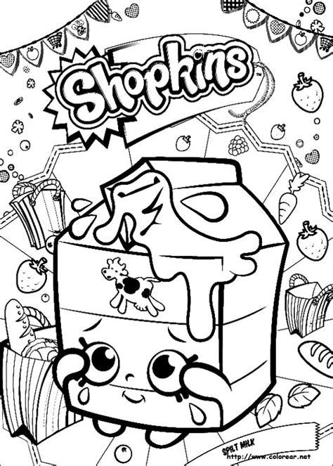 imagenes para pintar shopkins dibujos para colorear de shopkins