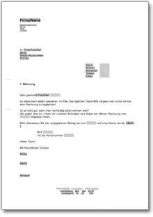 Erste Mahnung Muster beliebte downloads vorlagen 187 dokumente vorlagen