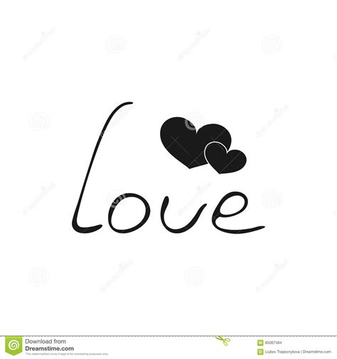 imagenes de amor animadas en blanco y negro vektor schwarzweiss ikone mit zwei herzen