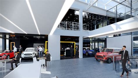 Car Garages Cheltenham cotswold motor visuals for planned mini and bmw