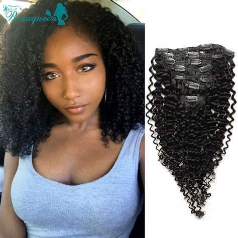 african natural curly hair weave charlotte nc store clip in human hair extensions brazilian african american