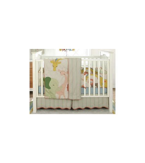 Circus Crib Bedding Set by Migi Circus 3 Crib Bedding Set