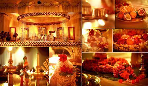 Kerala Hindu Wedding Stage Decoration Photos