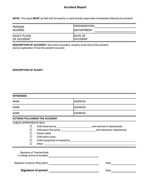 aid report form template aid incident report template certificate of