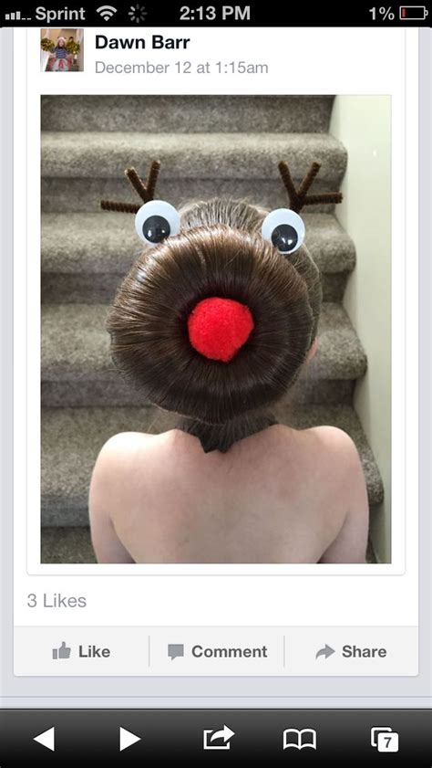 16 best images about hair rudolph bun on