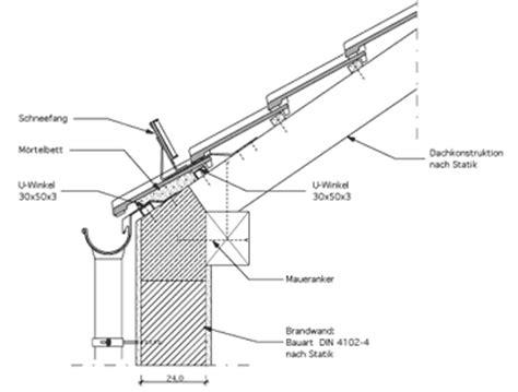Traufgesims Detail by Martin W 228 Sler Architekturb 252 Ro