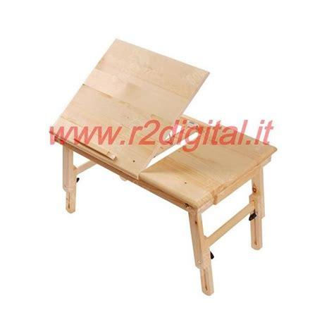 tavolo da letto tavolo da letto per notebook in legno con cassetto porta