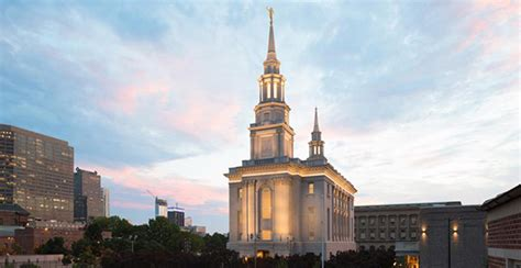 Philadelphia Pennsylvania Temple Open House And Dedication Church News And Events