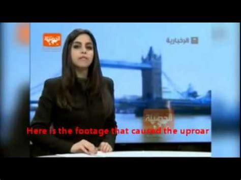 saudi female news anchor female saudi tv news anchor shows hair causes national