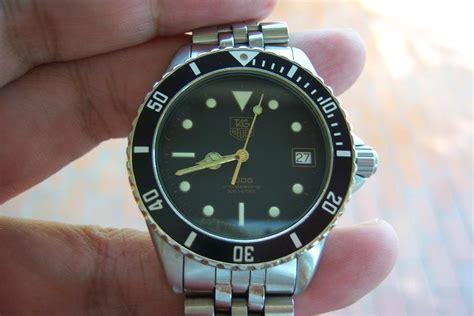Jam Tangan Tag Heuer 1000 jam tangan for sale tag heuer 1000 diver 200m quartz sold