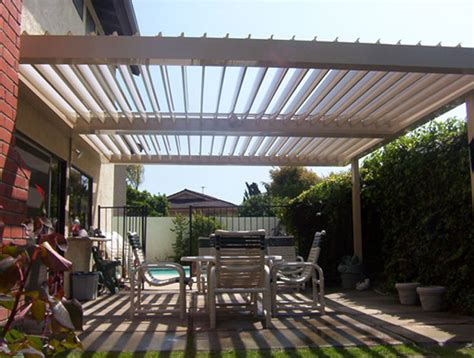 Louvered Roofs Shading Patio Louvered Roof