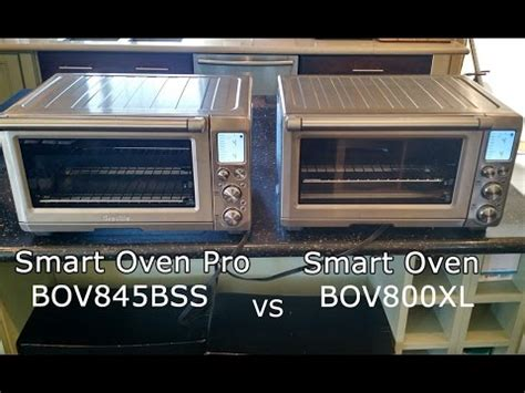 breville smart oven pro with light breville smart oven pro bov845bss vs smart oven