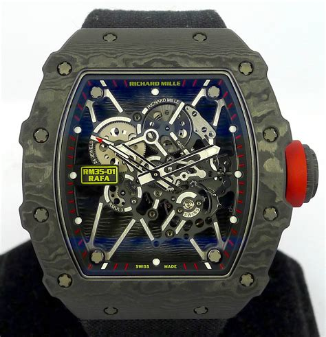 Richard Mille Rm035 Rafael Nadal Black richard mille rm035 01 rafael nadal black ntpt carbon gr luxury singapore rolex reliable