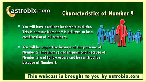 number 9 in numerology characteristics of number 9 in
