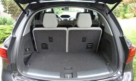 mdx cargo space acura mdx photos car photos truedelta