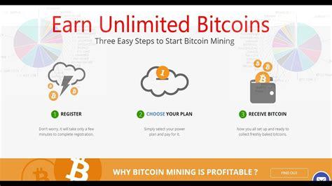 bitcoin earning tutorial earn unlimited bitcoin hashing24 top cloud mining