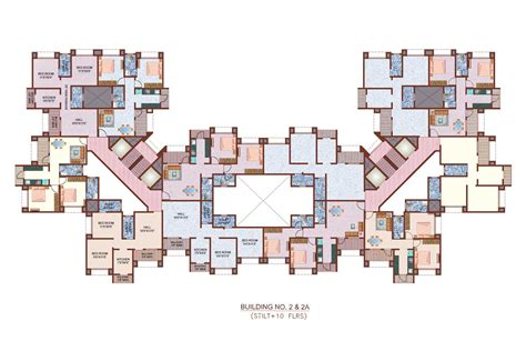 house building floor plans floor plans nancy group thane mumbai residential property buy nancy group