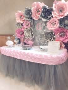 pink paper decorations 25 best ideas about paper flower backdrop on