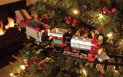 56 off christmas tree train just 13 home depot canada