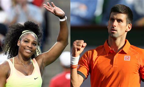 Calendar Year Grand Slam Us Open 2015 Serena Djokovic Top Seeds For Year S