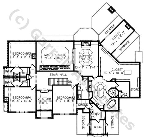 normandy manor house plan classic revival plans 04163 south hton manor 2nd floor plan normandy style