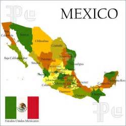 Map Of States Of Mexico by Printable Mexican Flag Illustration Of Mexico United