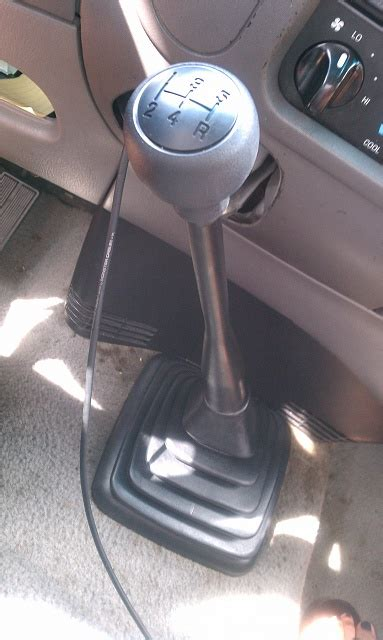 5 speeders what shift knob do you ford f150