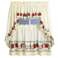 Designs For Kitchen Curtains Kitchen Curtains With Apples Kitchen Design Photos