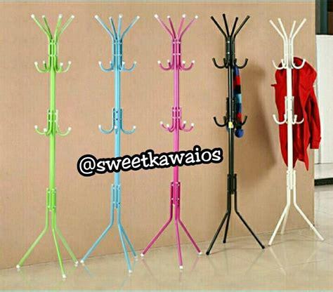 Paling Murah Gantungan Baju Besi Multifunction Clothes Hanger jual multifungsi stand hanger sweet kawai shop