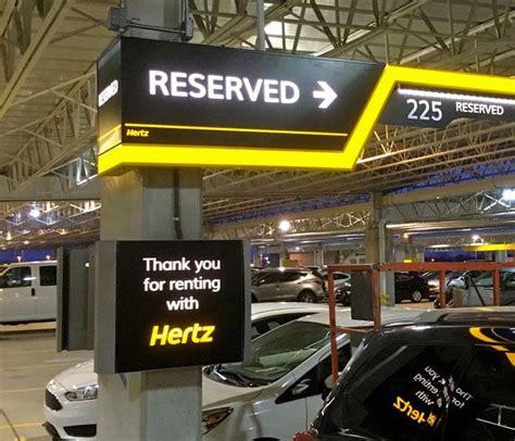hertz car rental brand conversion programs  airports