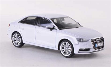 Audi A3 Weis by Audi A3 Limousine Weiss 2013 Herpa Modellauto 1 43