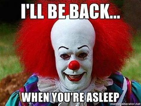 Funny Clown Memes - pennywise the clown funny as f pinterest the o