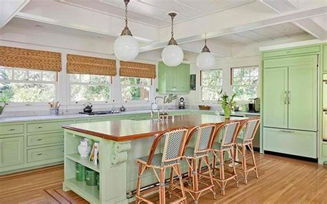 green kitchen ideas 15 cheery green kitchen design ideas rilane