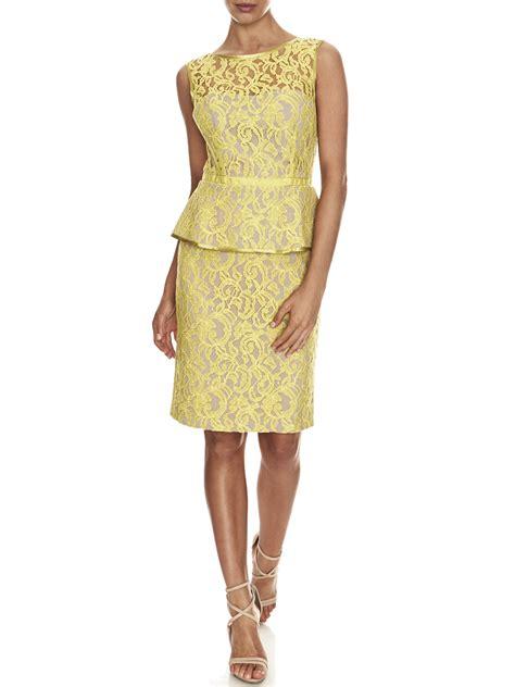 Lace Peplum lace peplum dress dressed up