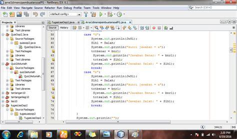 tutorial array c bahasa indonesia tutorial membuat soal pilihan ganda menggunakan array 1