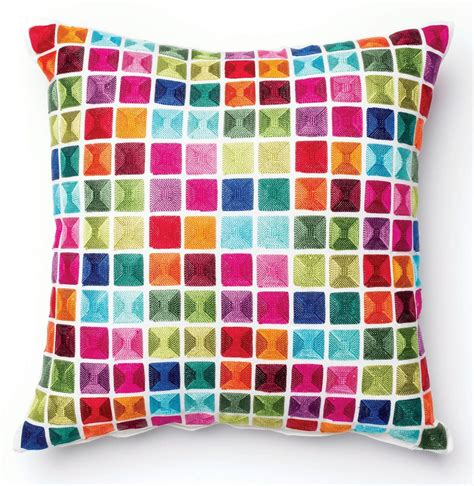 Pixi Pillows by Pixie Multi Color Square Pillow From Furniture Of America
