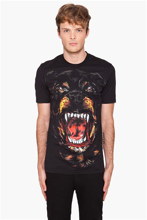 rottweiler shirt givenchy givenchy rottweiler in black for lyst