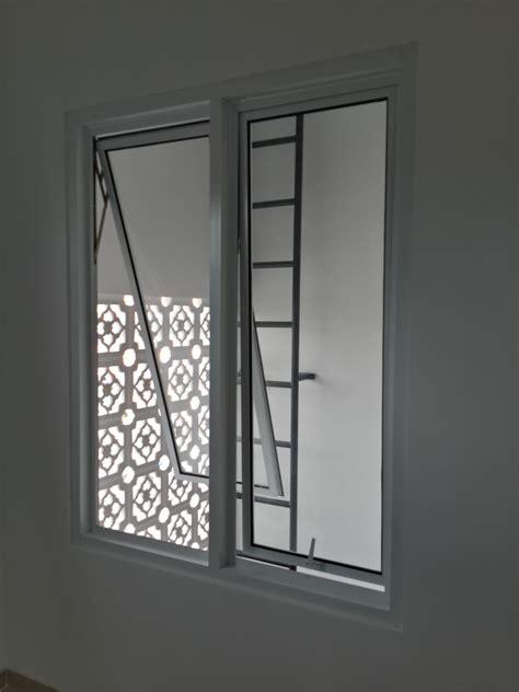 Rambuncis Alumunium jual beli handle jendela aluminium rambuncis warns silver 4 lubang baru aksesoris dan hiasan