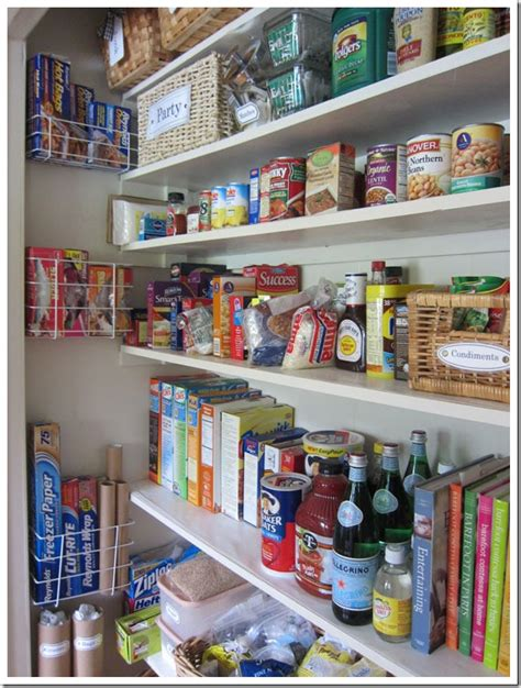 pantry decorating ideas how i transformed a coat closet into a pantry in my own